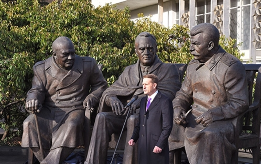 Памятник участникам Ялтинской конференции