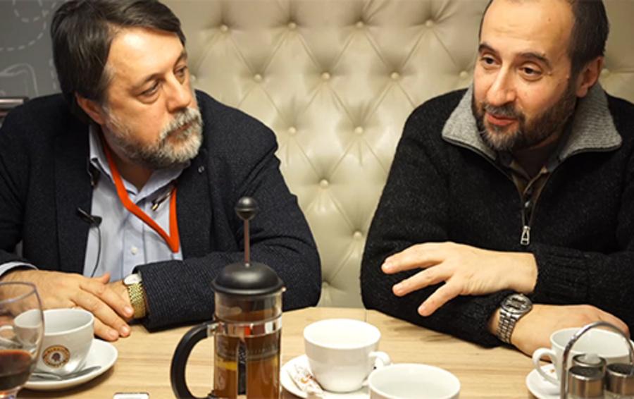 Виталий Манский (слева) и Андрей Мовчан