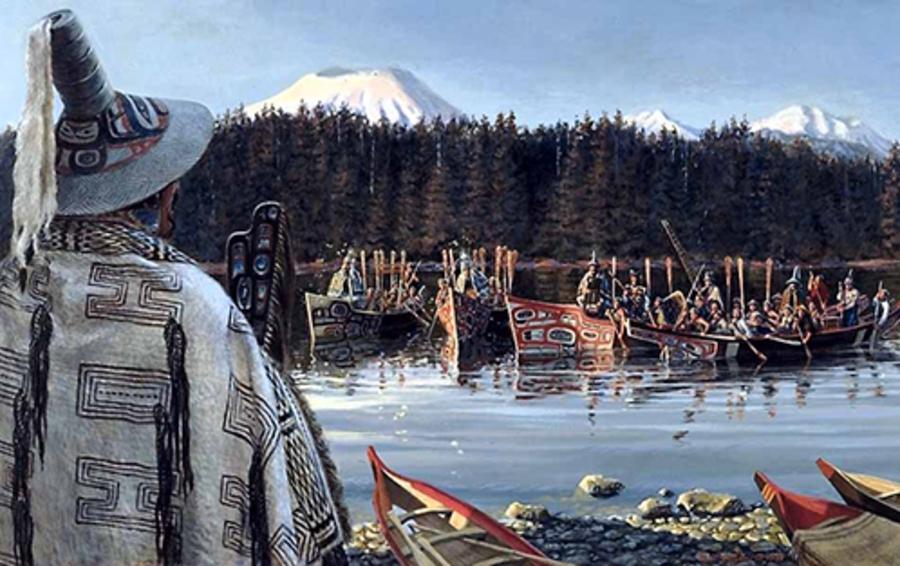 В сжигании продуктов есть много общего с ритуалами потлача у индейцев