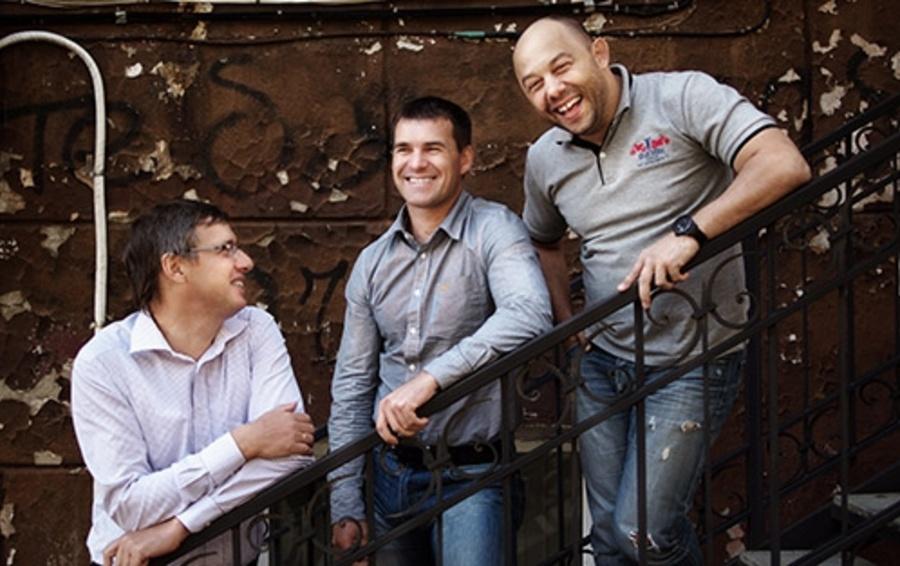 Основатели DNS Дмитрий Алексеев, Сергей Мещанюк и Константин Богданенко