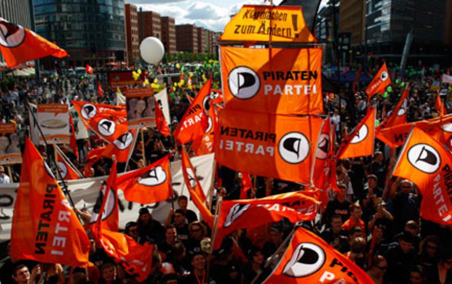 Праздник краха традиционной партийной системы в Европе — выход на политическую арену «Пиратских» партий