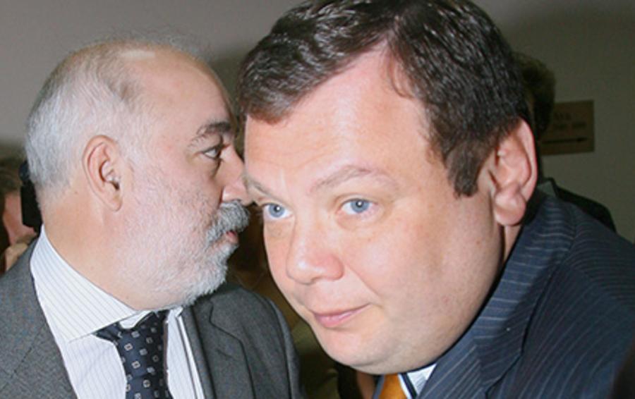 Виктор Вексельберг (слева) и Михаил Фридман не хотели продавать доли в ТНК-ВР