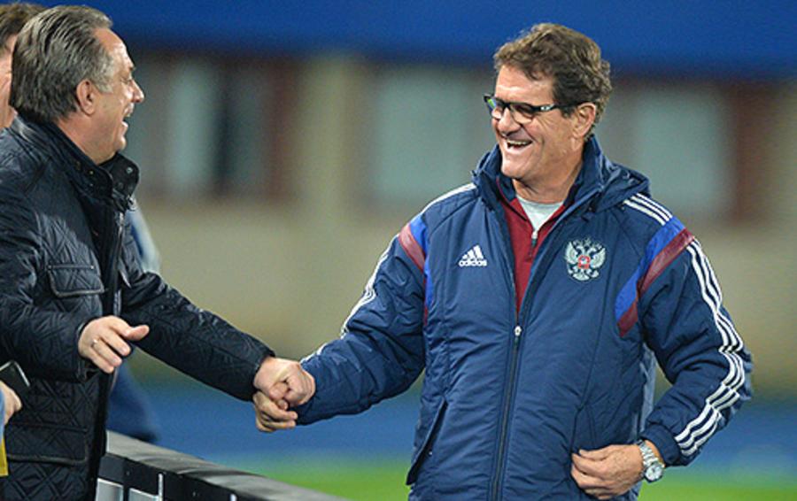 Виталий Мутко (слева) и Фабио Капелло хорошо умеют понимать друг друга