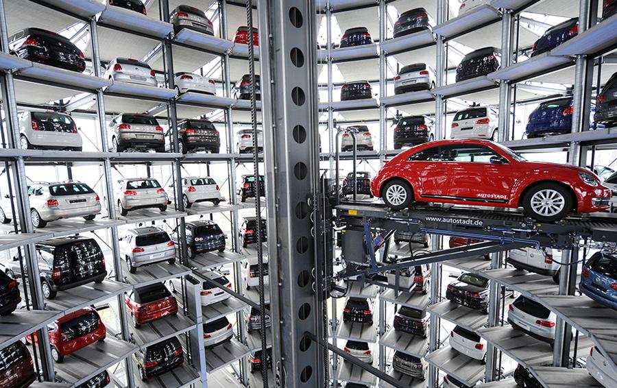 Автоштадт компании Volkswagen