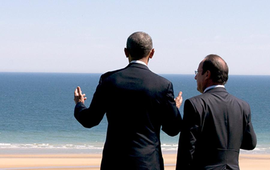 Барак Обама (слева) и Франсуа Олланд выбрали неверный внешнеполитический курс в отношении Сирии