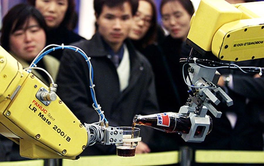 Машина, разработанная Shanghai-FANUC Robotics Co. Ltd, — яркий пример перспективной инвестиции в высокие технологии