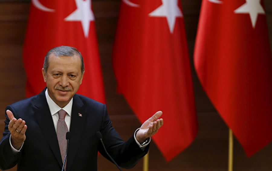 Турецкий президент Реджеп Тайип Эрдоган тоже умеет превращать бизнес в политику.