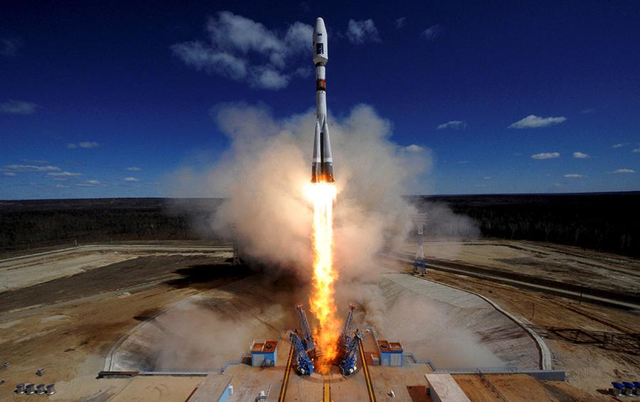 Первый запуск с космодрома Восточный