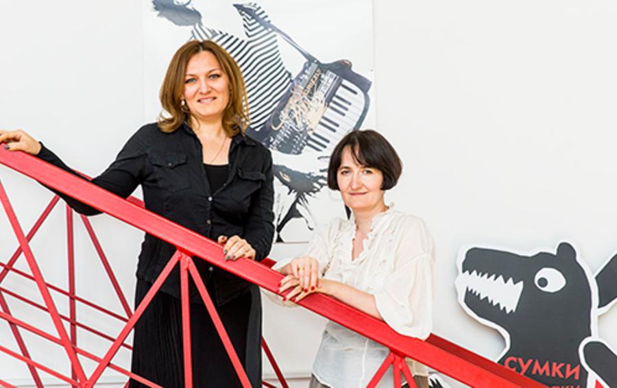 Ольга Березанская (слева) и Екатерина Свердлова тестируют идеи на своих детях, у Ольги их двое, у Екатерины - четверо