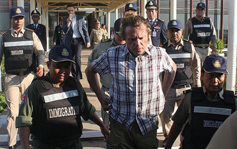 Экстрадиция Сергея Полонского из Камбоджи стала одной из самых громких новостей мая 2015-го