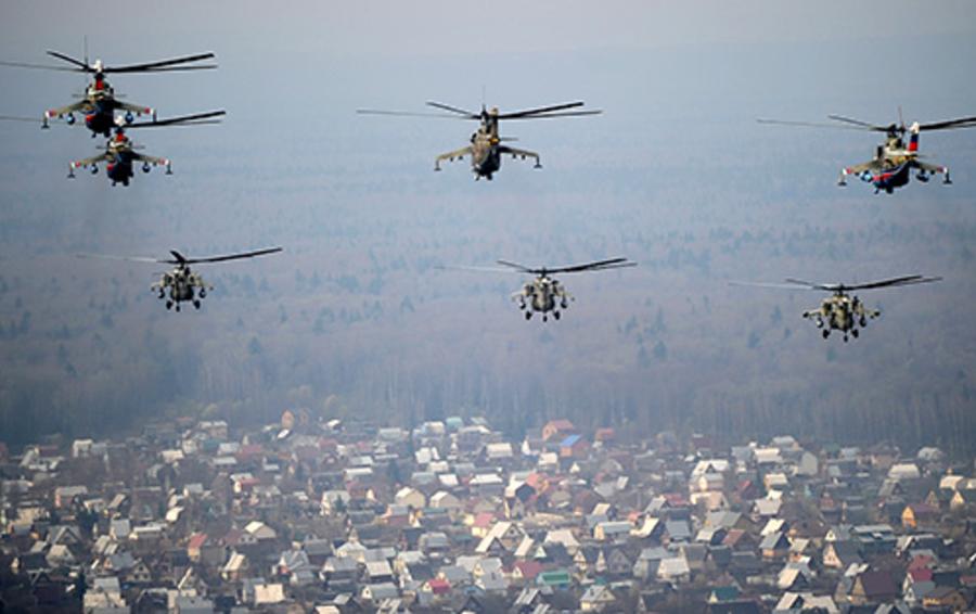 В 2012 году в россии было произведено 290 вертолетов,почти в четыре раза больше, чем в 2005 году