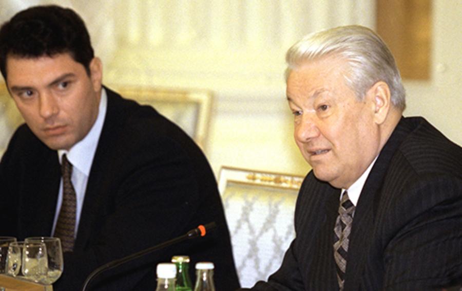 Борис Немцов и Борис Ельцин