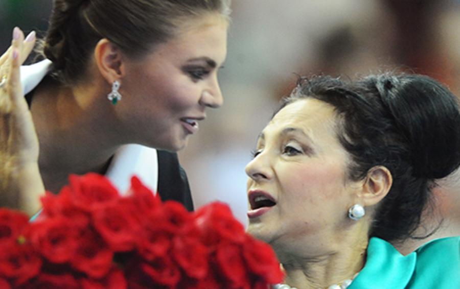 Алина Кабаева и Ирина Винер-Усманова