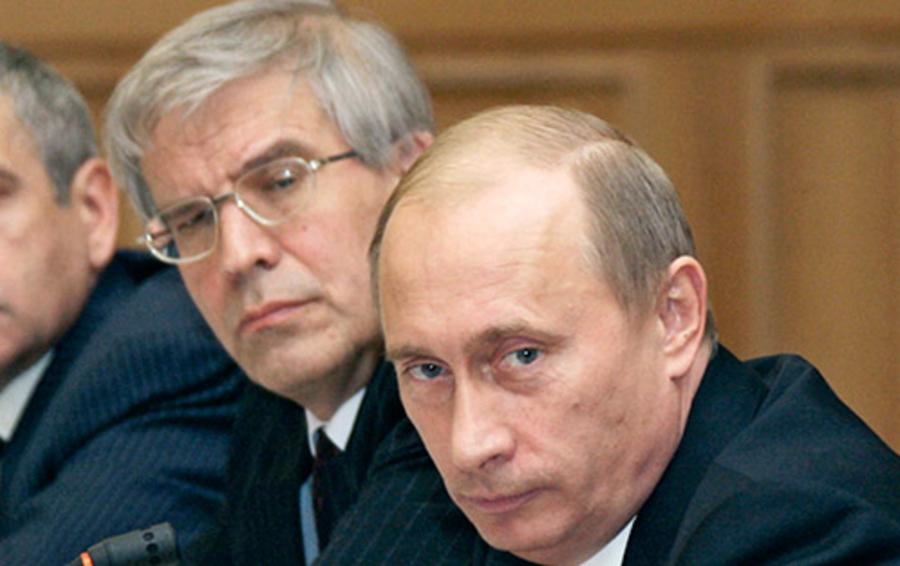 Сергей Игнатьев и Владимир Путин