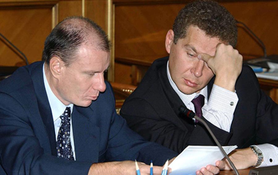 Владимир Потанин и Александр Мамут