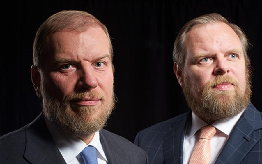 Братья Алексей (слева) и Дмитрий Ананьевы купили «Возрождение», договорившись с наследниками умершего основателя банка Дмитрия Орлова