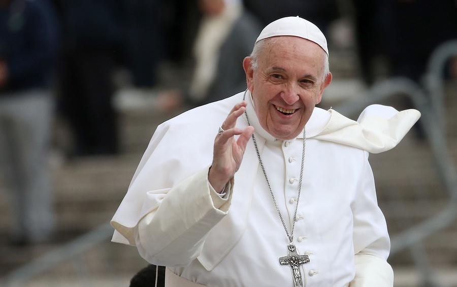 Папа Римский посвятил молитву работникам СМИ