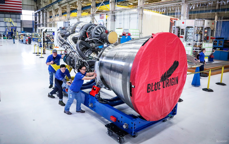 Ракетный двигатель BE-4