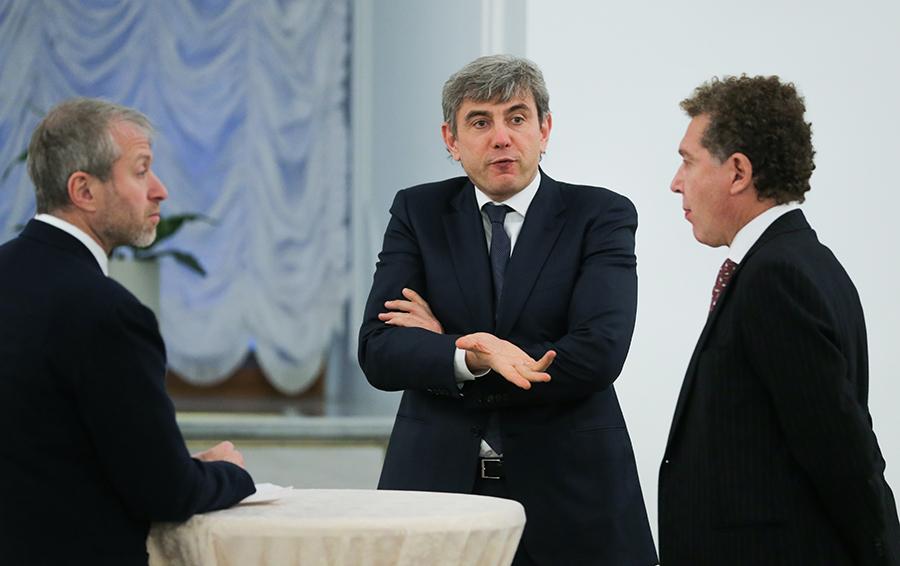 Бизнесмен Роман Абрамович, президент и владелец ФК