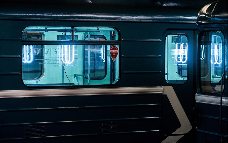 Обеззараживание вагонов Московского метрополитена в электродепо
