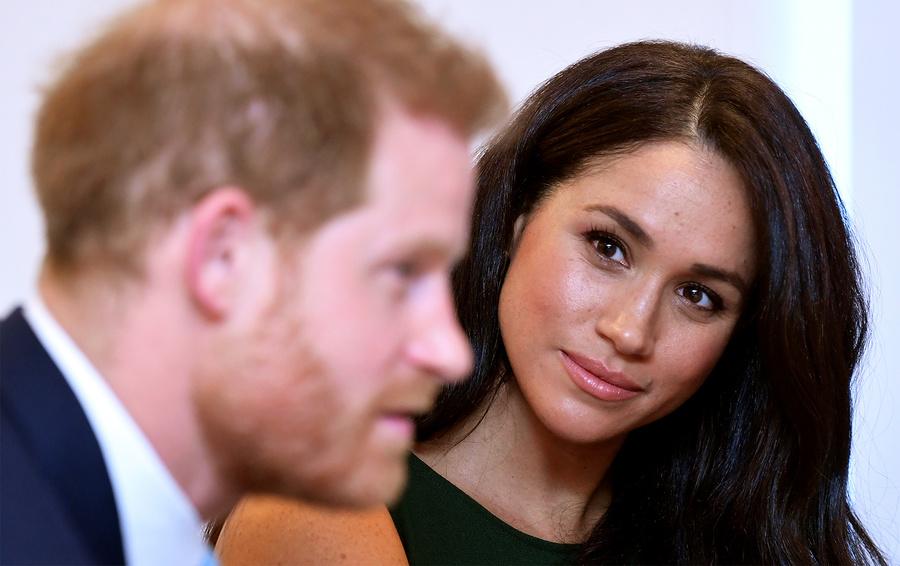 Принц Гарри и герцогиня Сассекская Меган.