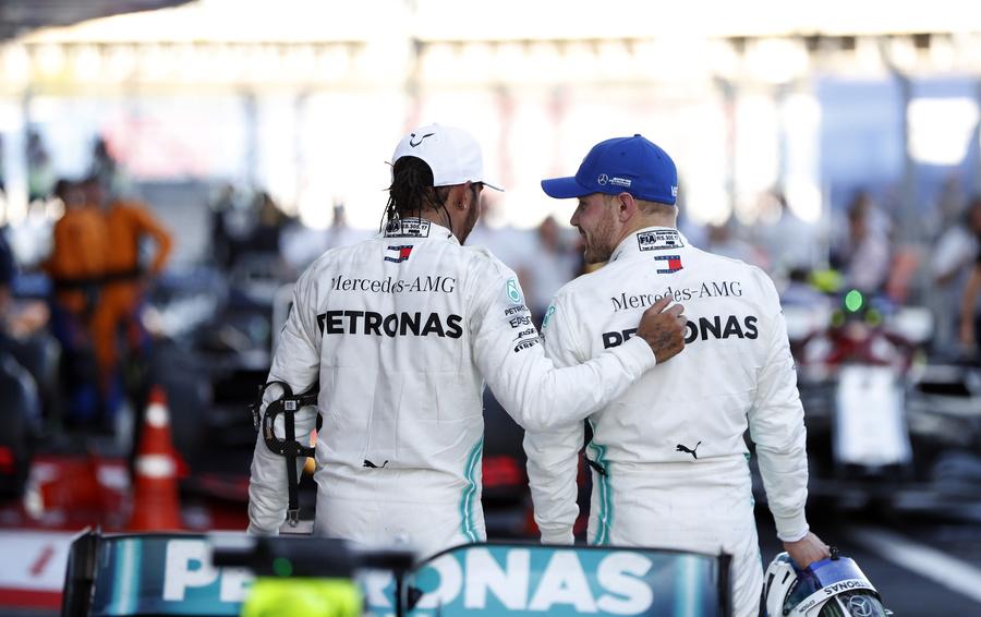«Формула-1» в Сочи: победный дубль Mercedes, российский триумф и презентация нового GLS