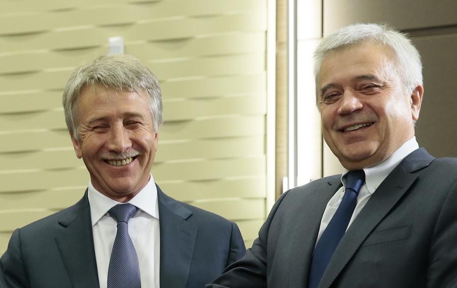 Леонид Михельсон и Вагит Алекперов