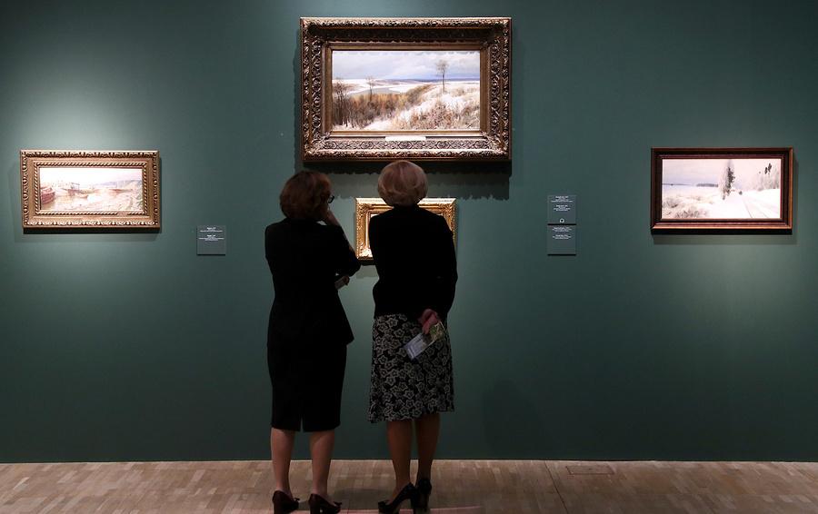 Выставка Василия Поленова, приуроченная к 175-летию художника, в Москве