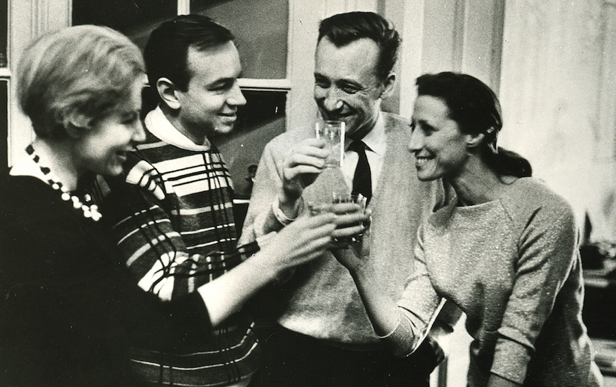 Зоя Богуславская и Андрей Вознесенский, Родион Щедрин и Майя Плисецкая