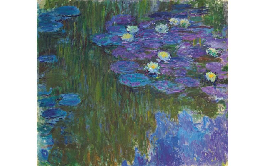 Клод Моне, «Кувшинки», проданы за $84 687 500 с мировым рекордом