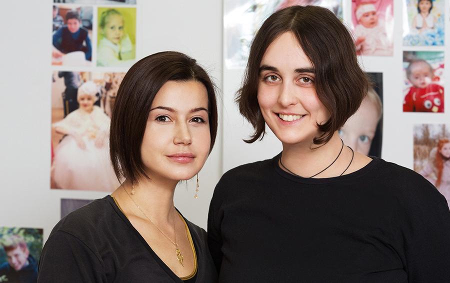 Директор 4Doctors Елизавета Померанцева (слева) и Лида Мониава,
