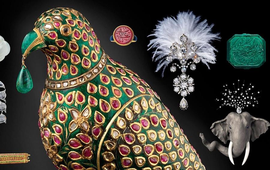 Внутри лучшей частной ювелирной коллекции в мире. «Сокровища махараджи» шейха Аль-Тани