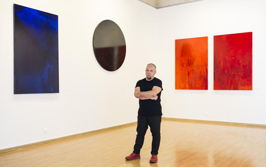 Андрей Волков в экспозиции выставки «Сохранение времени»
