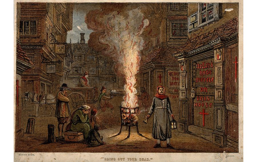 Великая лондонская чума 1665 года
