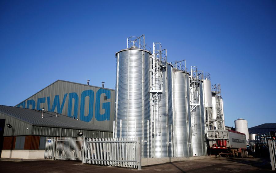 Пивоварня BrewDog в шотландскомАбердиншире