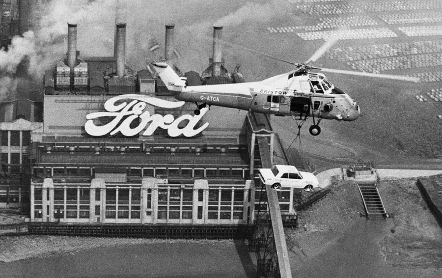 Завод компании Ford (1969 г.)