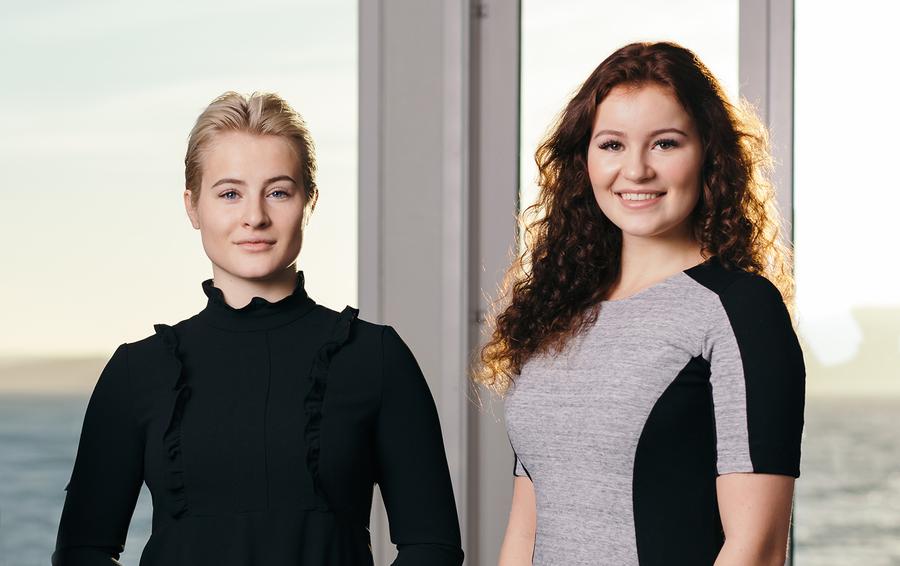 Катарина и Александра Андерсен