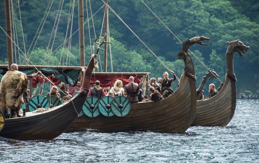 Кадр из сериала «Викинги»