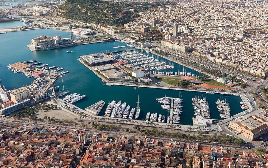 Барселонский порт для суперъяхт OneOcean Port Vell