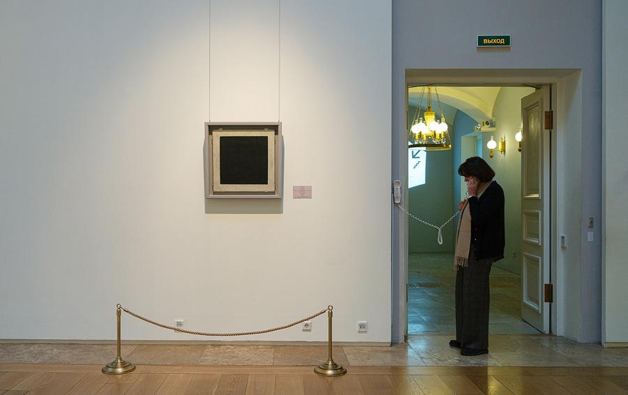 Один из вариантов «Черного квадрата» Малевича Владимир Потанин подарил Эрмитажу в 2002 году