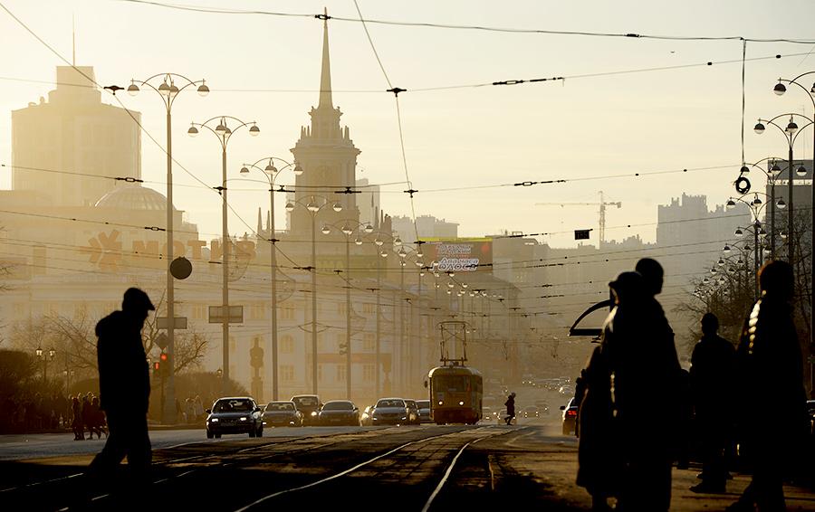 Виды города Екатеринбург