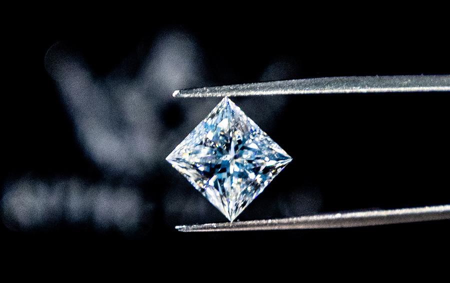 Ограненный бриллиант