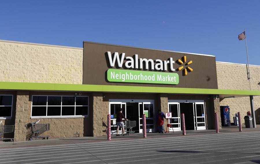 Магазин Walmart