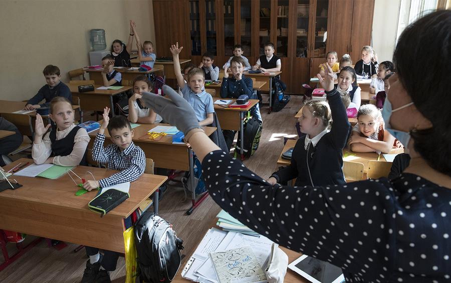 Фото AP Photo / Pavel Golovkin / ТАСС