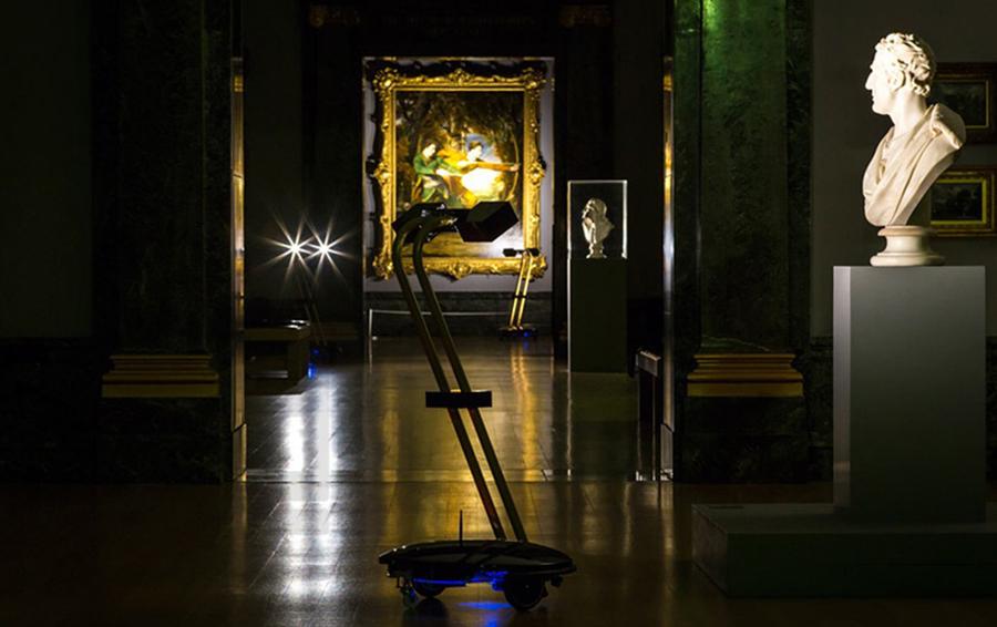 Интерактивный проект After Dark в галерее Тейт.