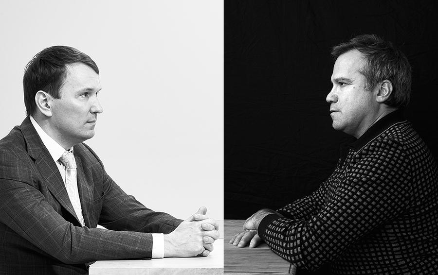Дмитрий Костыгин (слева) предлагал вложить $20-30 млн в развитие «Юлмарта». Михаил Василенко (справа) рекомендовал перейти в «энергосберегающий режим».