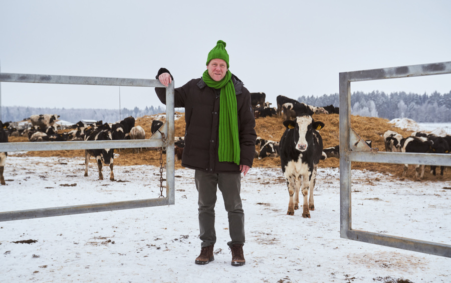 «Эконива» Штефана Дюрра сейчас является крупнейшим производителем молока в Европе Фото Юрия Чичкова для Forbes