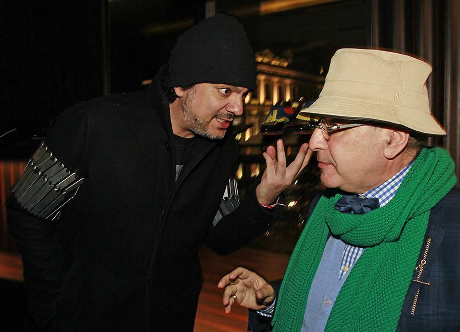 Филипп Киркоров и Александр Добровинский (слева направо) ( Валерий Левитин / РИА Новости )