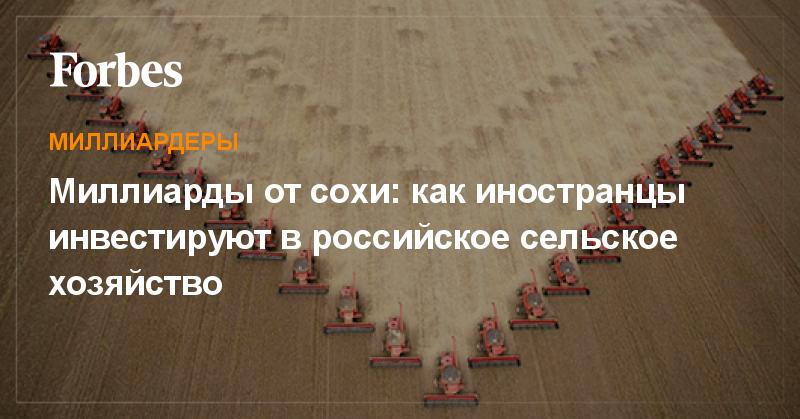 Российские миллионеры инвестируют в выращивание эко-фруктов