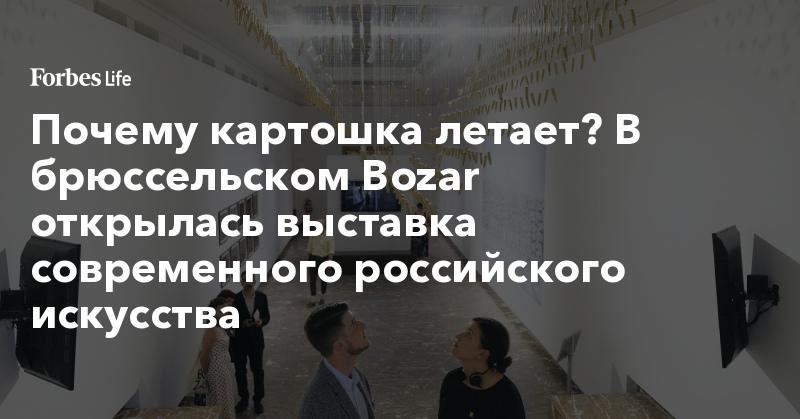 Почему картошка летает? В брюссельском Bozar открылась выставка современного российского искусства | ForbesLife | Forbes.ru